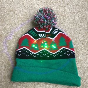 Other - Light Up Novelty Christmas Tree Beanie